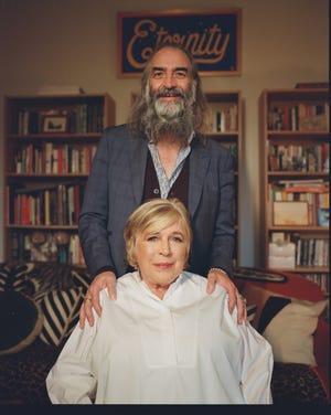 Marianne Faithfull and Warren Ellis