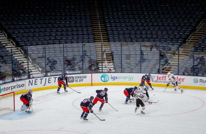 Under the new guidelines, the Crew can host up to 5,990 fans at old Crew Stadium. The Blue Jackets could have roughly 4,880 fans.