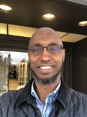 Sharmarke Gaani, of New Albany, says he was detained for three days in Saudi Arabia during a business trip.