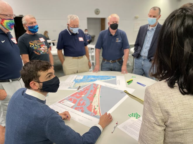 Together, Ponce Inlet residents, town employees and members of the East Central Florida Regional Planning Council met Thursday night and discussed different, effective methods to prepare for a changing climate.