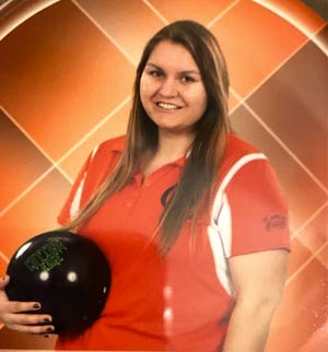Quincy's Carlie McKinley set a new QHS School Bowling Record Thursday, firing off a high game of 269 to lead the Oriole effort.