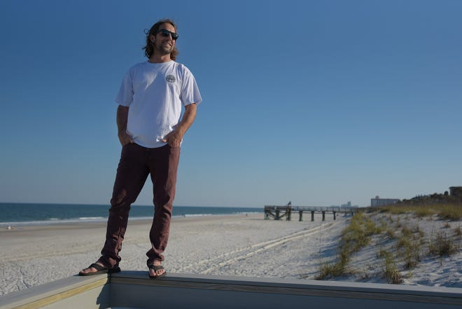 Atlantic Beach resident Dane Jefferys is the founder and executive director of Florida Board Riders, a nonprofit organization forming surf clubs up and down the coast for competition, camaraderie and charity.