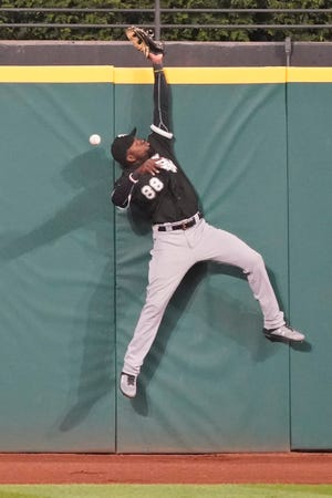 Chicago White Sox outfielder Luis Robert led all MLB rookies in RBIs last season and tied for first among the rookies in home runs.