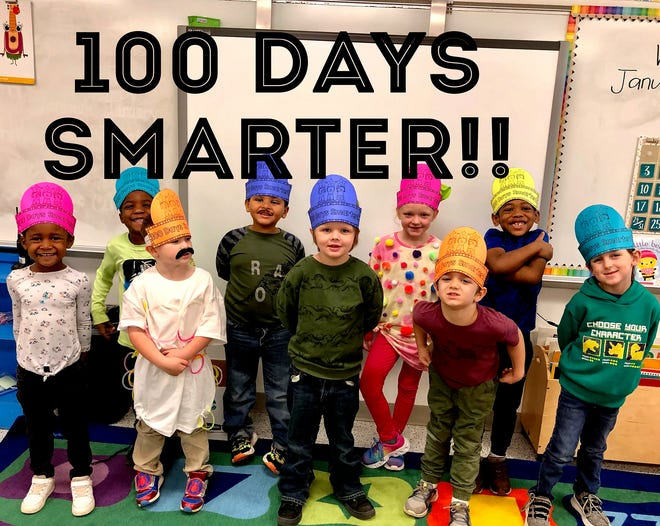 """Students at Denison's Terrell Elementary school are proud to be 100 days smarter. """"During times like these, I continue to realize that we are truly one of the best school districts in Texas because of our strong Denison traditions. Our people don't complain. They just roll up their sleeves and get the job done…using the best practices and methodology available. I'm just so proud of everyone."""""""