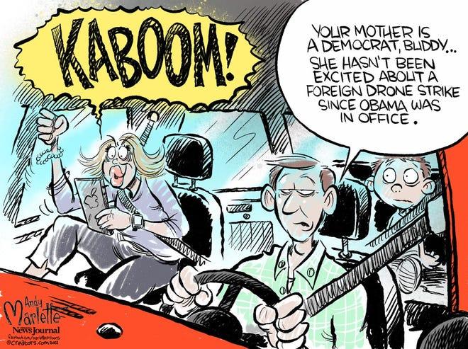 Today's editorial cartoon (Feb. 28, 2021)
