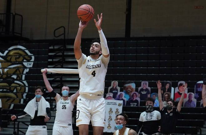 Bryant forward Nathaniel Stokes is among two players who announced a possible transfer on Thursday.