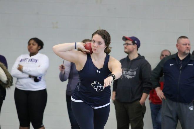 Olivia Hurtt, John Carroll women's indoor track and field