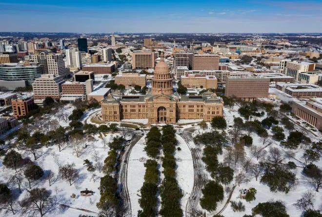 Texas state agencies report spending more than $41 million on the storm, and local governments had spent $49 million, according to Nim Kidd, chief of the Texas Department of Emergency Management.