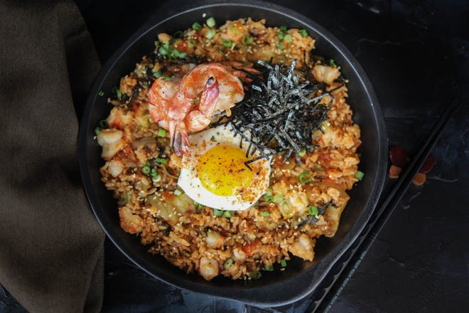 Kojo, a new Asian restaurant featuring dishes such as shrimp, bacon and kimchi fried rice, has opened in downtown Sarasota in the former space of Louies Modern and Lemon Tree Kitchen.