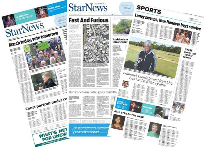 The StarNews won numerous awards for reporting, photography and multimedia from the North Carolina Press Association.