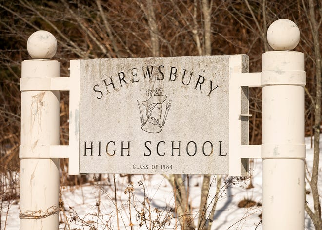 The Colonials mascot can be seen on signage around Shrewsbury High.