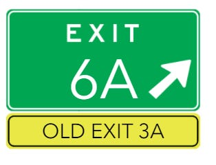 I-84 drivers will soon see new exit numbers.