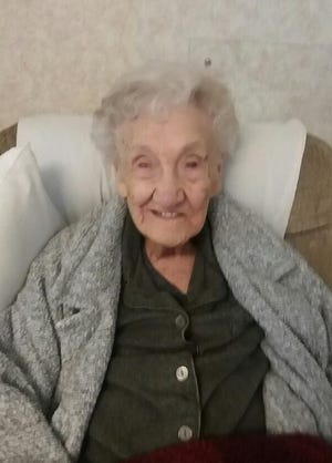 Montie Ard, the oldest resident at Heartland of Bucyrus, will celebrate her 104th birthday on Saturday, Feb. 27.