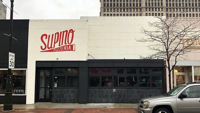 Supino Pizzeria opened a second location Wednesday in Detroit's New Center area.