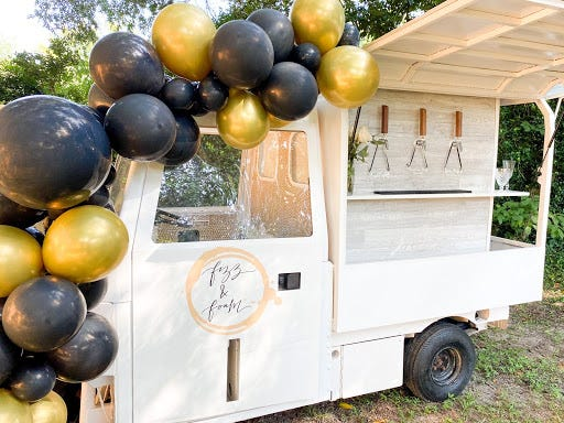 Fizz & Foam gives the Tallahassee community a new way to elevate parties and events with its first ever tap truckster and mobile bar, courtesy of FSU alumna Sky Foster.