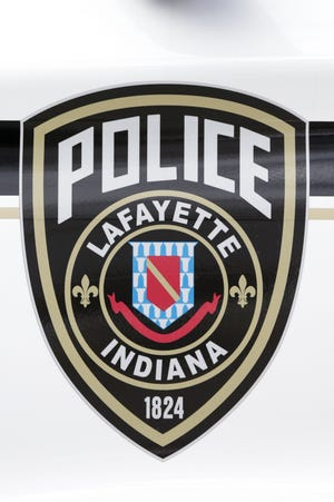 A Lafayette Police cruiser sits parked along Foxhall Street, Friday, Feb. 26, 2021 in Lafayette. The cruiser is the latest model of police interceptors the department has deployed.