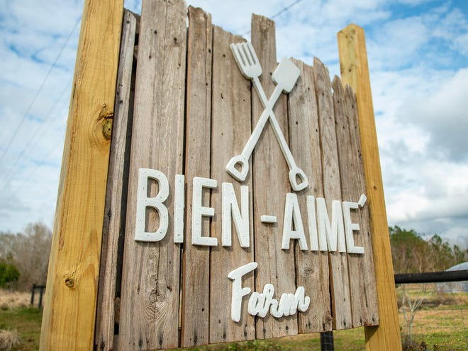 Katie and David Baird started Bien-Aime' Farms in hopes to make a self-sustained organic farm. Thursday, Feb. 25, 2021.