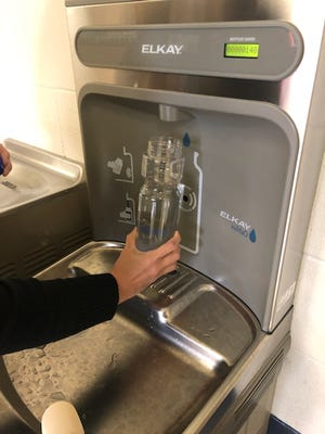 Water filtration systems have been installed atNorthside High School, Lafayette High, Comeaux High, Broussard Middle and Scott Middle aspart of theLouisiana Healthy Communitiesgrant from the U.S. Centers for Disease Control. Systems are expected to be installed at other schools as well.
