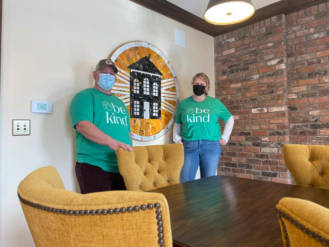 Dan and Anna Oginsky restored and expanded an historic home in Brighton to create Brighton Light House, a new co-working and business rental space.