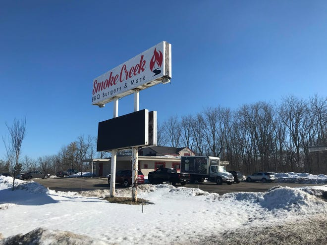 Smoke Creek, a new barbeque restaurant at 10166 S. 27th St. in Oak Creek, opened in early February. Owner Dan Neumann custom-built a wood-fueled meat smoker behind the building.