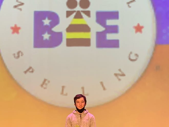 On Tuesday, Feb. 23, seventh-grade student Declan Whitlock won first place in the Baxter County Spelling Bee. Eighth-grade student Addison Winnett took second place, followed by eighth-grade student Elijah Williams in third place. Whitlock will advance to the state spelling bee this spring.