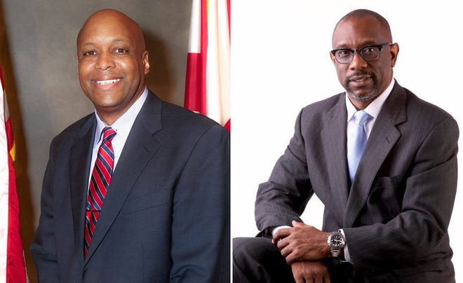 Voters in Senate District 26 will decide Tuesday to send Republican nominee William Green (left) or Democratic nominee Kirk Hatcher (right) to the Alabama Senate.