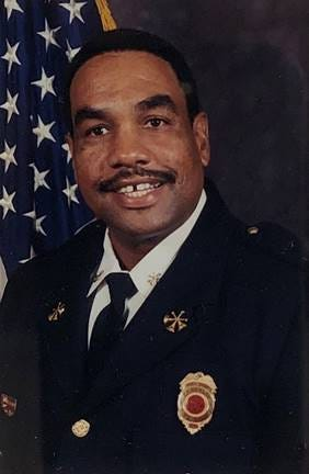 Retired Assistant Chief John Fitzgerald was Franklin's first Black firefighter. The city named a street in his honor.