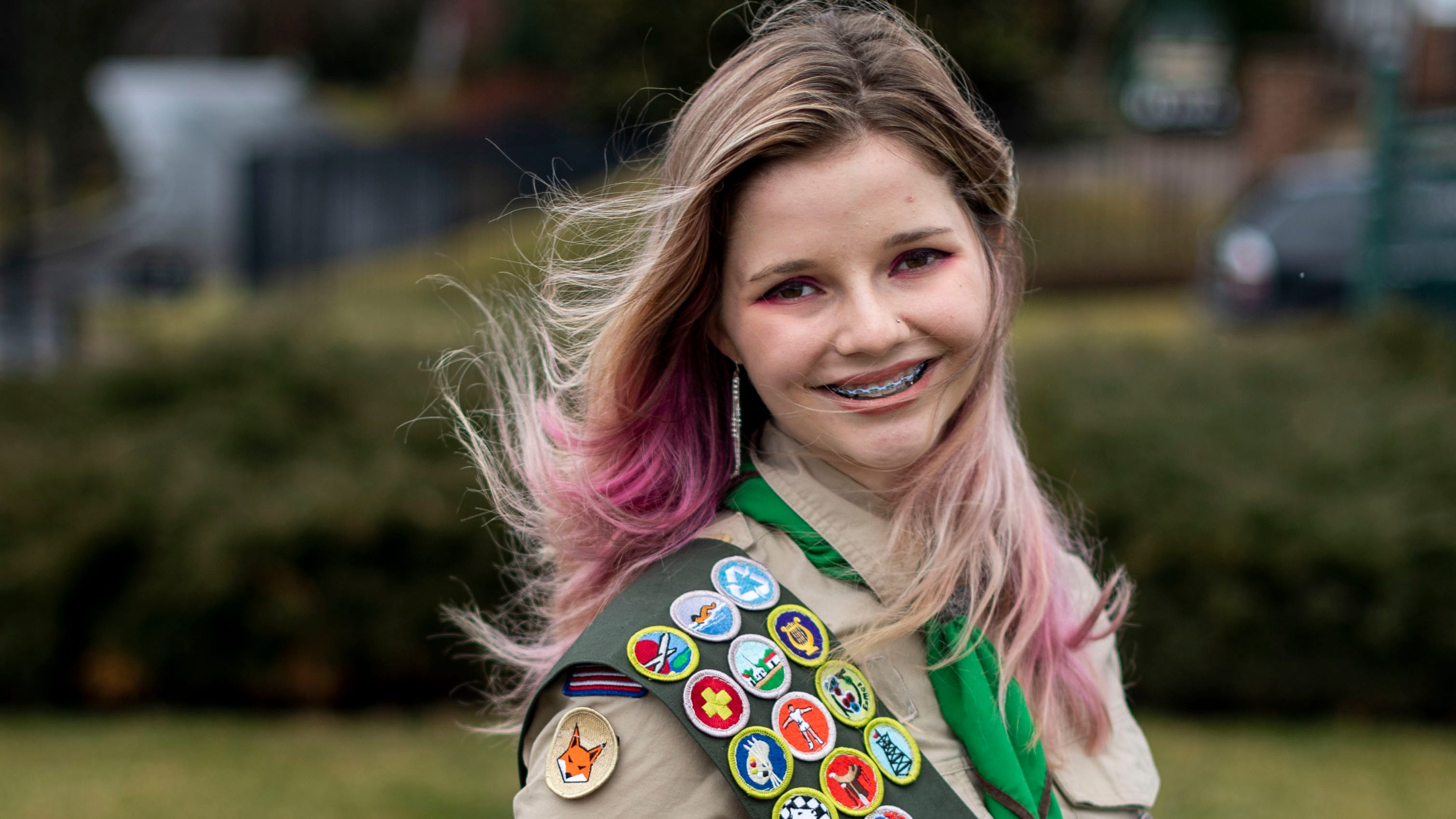 Brentwood girl earns Boy Scouts' highest rank: Eagle