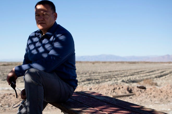 """Luis Olmedo, executive director of Comite Civico Del Valle, called lithium extraction a """"huge opportunity"""" but wants to ensure that low-income, mostly Latino communities in the Imperial Valley benefit."""