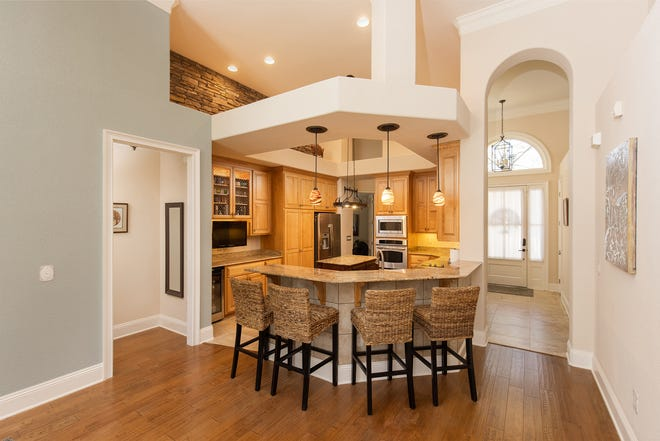 The kitchen is perfect for preparing delicious meals.