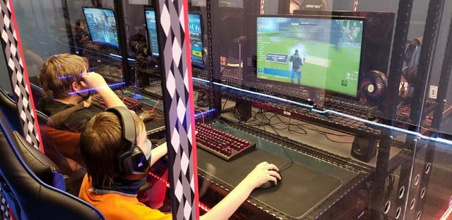 A file image of a child playing Fortnite. Hamilton Middle School will be streaming a Fortnite tournament featuring about 100 students Saturday, March 27.