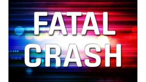 A 25-year-old man died early Tuesday in a one-vehicle crash two miles west of Hollister.