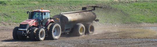 It is important to understand the conditions that lead to runoff and heightened risk for nutrient loss, so farmers can reduce runoff and water quality impacts.