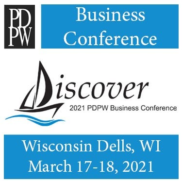 """This year's PDPW annual Business Conference set for March 17-18 at the Kalahari Resort and Convention Center in Wisconsin Dells, lives up to its theme """"Discover""""featuring28 sessions and 44 speakersbringing new ideas, research and perspectives."""