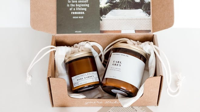 Keep your home smelling fresh with monthly candle deliveries.