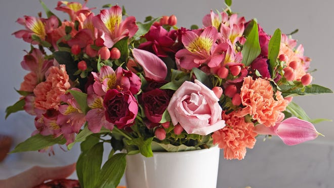 Fresh flowers will brighten up your home and your spirits.