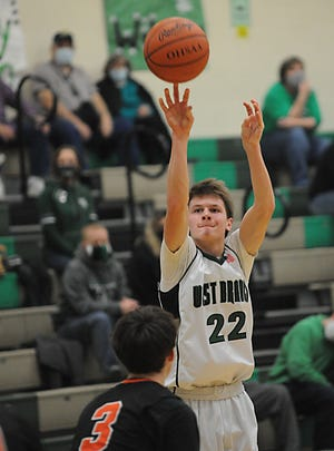 Dru DeShields is West Branch's leading rebounder and is averaging double figures in scoring.