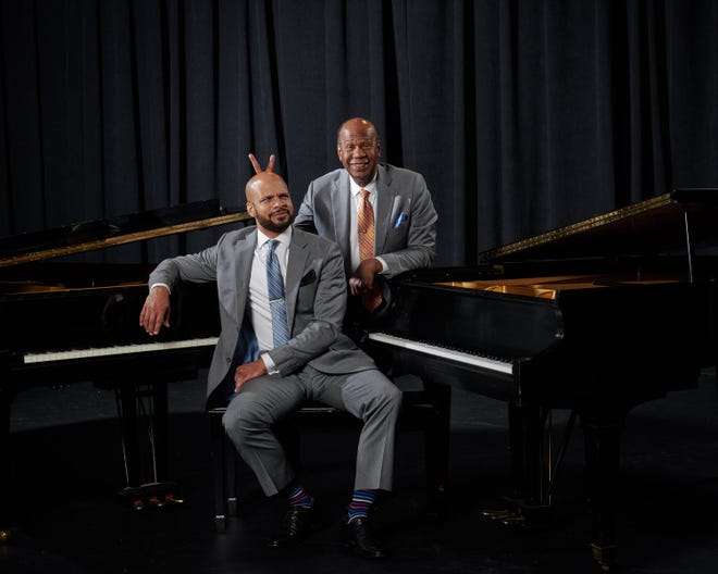 Oklahoma based dueling-piano sensations Ryan & Ryan to perform at The Goddard Center  at 7:30 p.m. Friday, March 26.