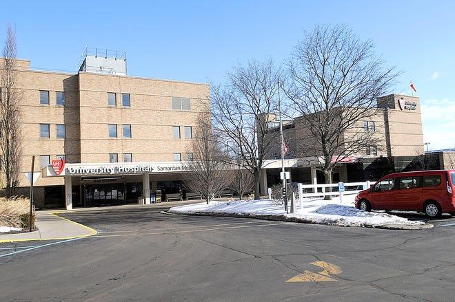 UH Samaritan Medical Center Tuesday, Feb. 23, 2021. TOM E. PUSKAR/TIMES-GAZETTE.COM
