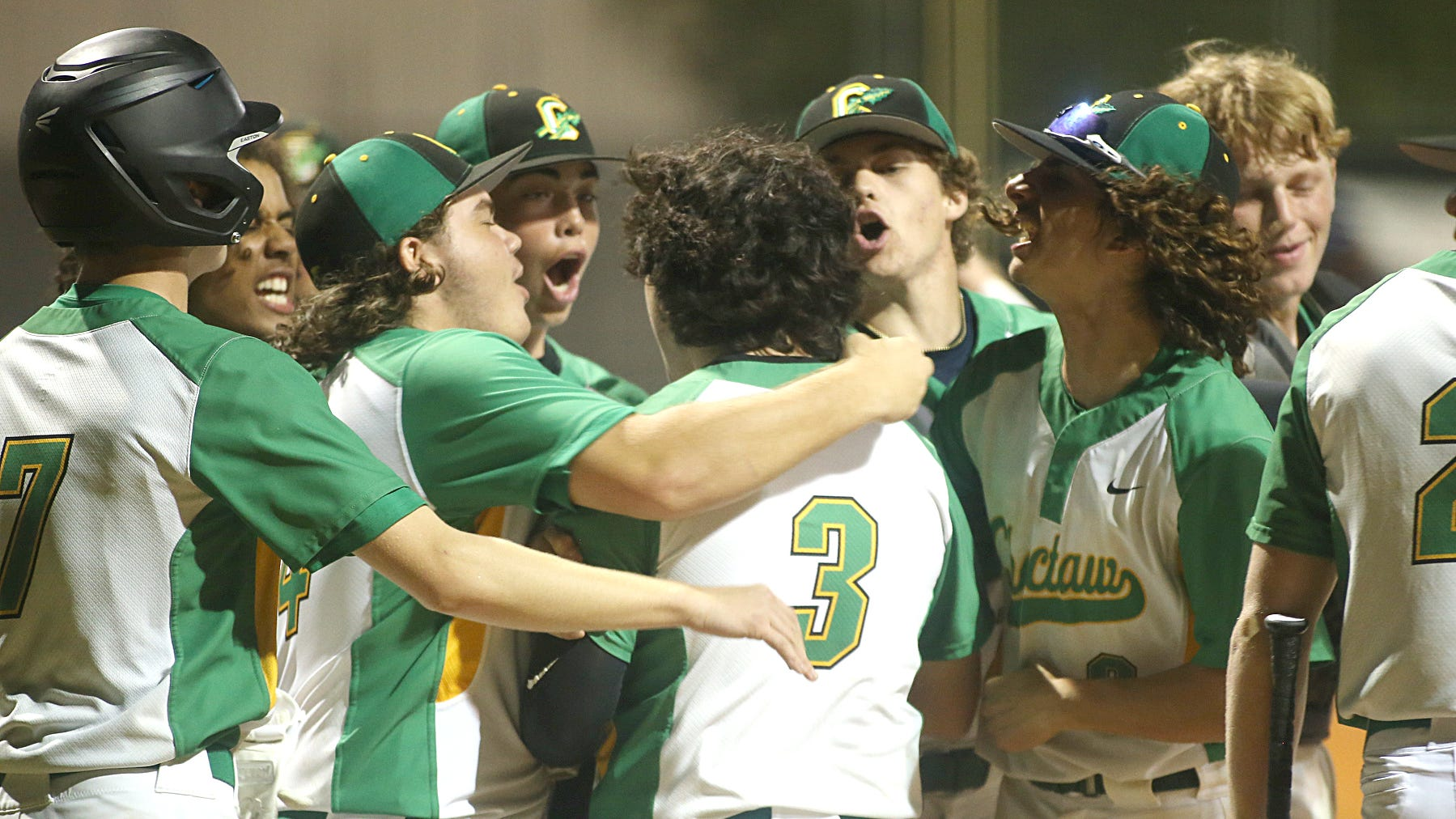 Choctaw- Fort Walton Beach rivalry baseball game