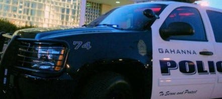Gahanna police cruiser