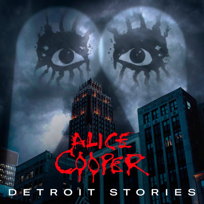 "This cover image released by earMUSIC shows ""Detroit Stories"" by Alice Cooper."
