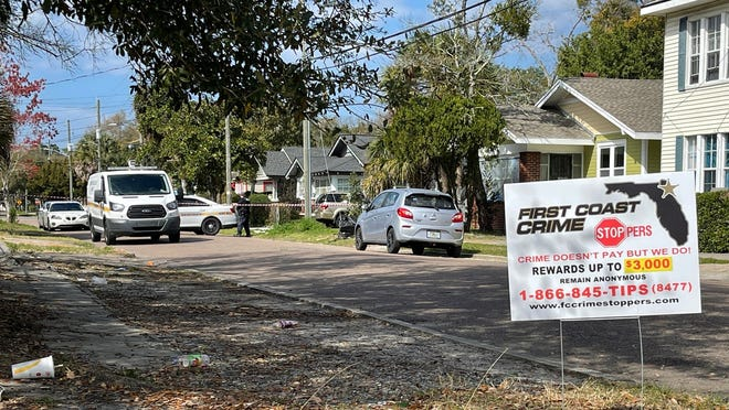 The Jacksonville Sheriff's Office investigates a deadly shooting Saturday morning at a home in 300 block of West 18th Street.