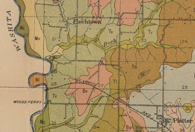 Finchtown map