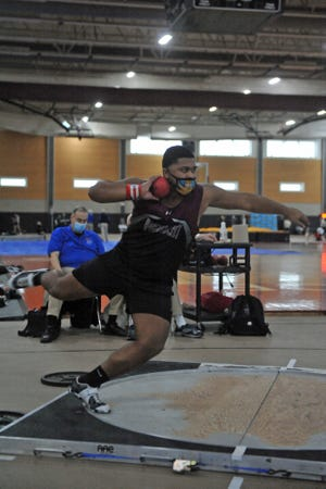 With his gold-medal performance at the RIIL Boys Indoor Track Championship, Woonsocket's Tarik Robinson-O'Hagan has earned a spot on the Providence Journal All-State team.