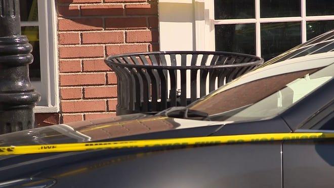 Silvana Sanchez said she was walking along Dorchester Avenue when she heard crying coming from the trash barrel.