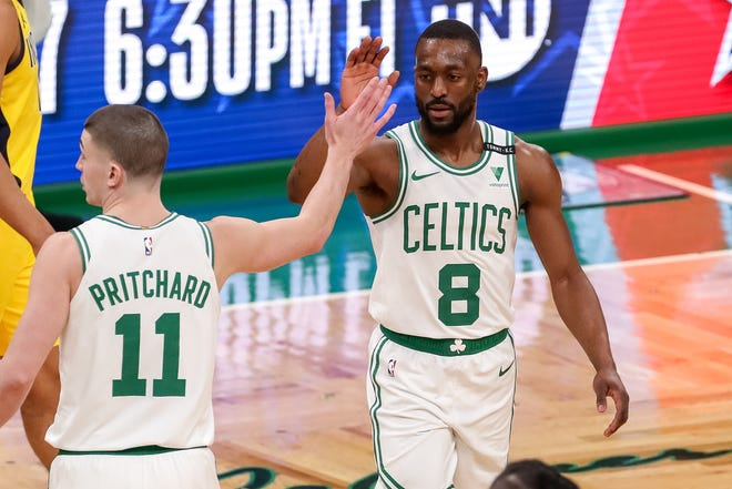 Celtics guard Kemba Walker stepped up his game and leadership on Friday night.