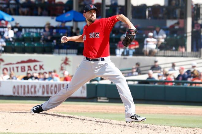 Red Sox relief pitcher Matt Barnes is entering his free agent season.