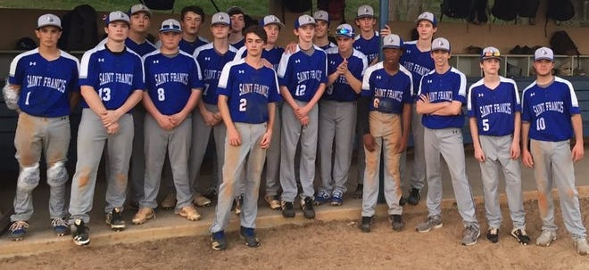 Saint Francis baseball team ends Oak Hall's domination.