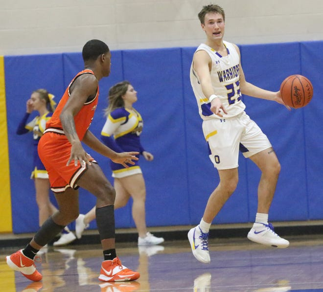 Ontario's Griffin Shaver moved into No. 2 on the Warriors boys basketball program all-time scoring list jumping ahead of his mentor, Benji Hall.